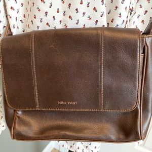 Vintage Nine West Brown Leather Purse